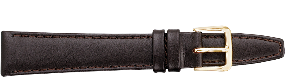 STRAPS, LEATHER #332 12mm BRN