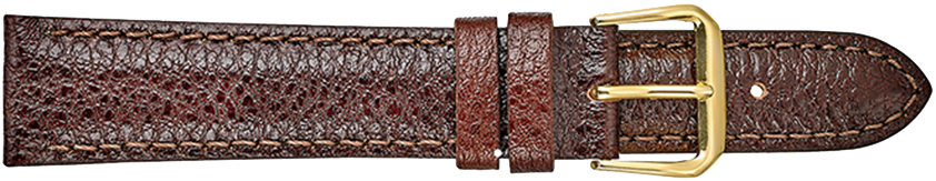 STRAPS, LEATHER #333 10mm BRN