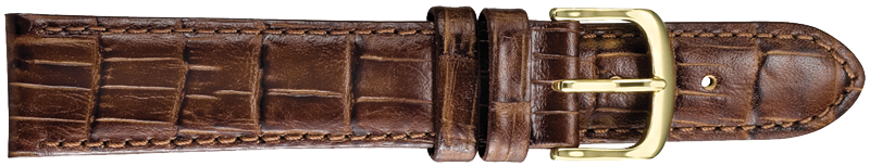 STRAPS, LEATHER #347 12mm BRN