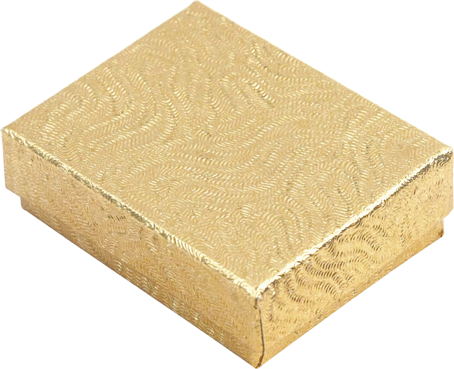 COTTON FILLED BOX         GOLD
