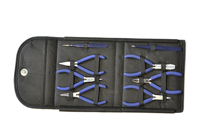 PLIERS, COMPLETE TOOL SET  8pc