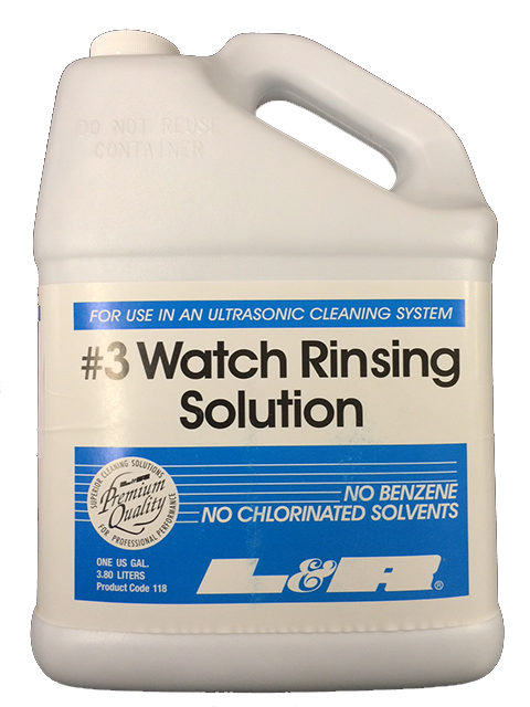 SOLUTION, #3 WATCH RINSE