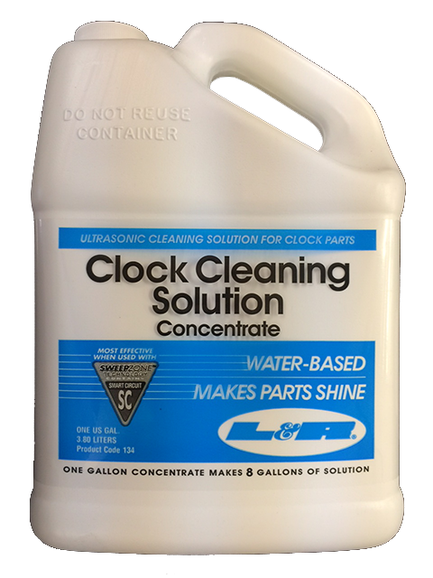SOLUTION, CLOCK CLEANING