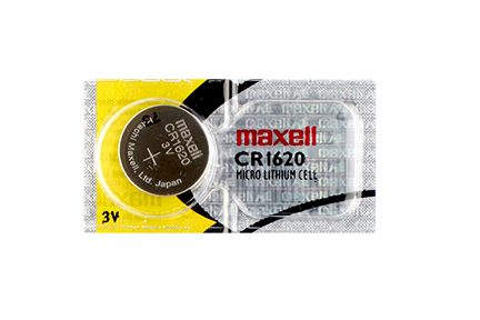 MAXELL LITHIUM BATTERY B8 CR1620