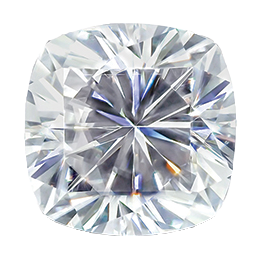 MOISSANITE, CUSHION     4.0mm ST AK-HSNC 4.0