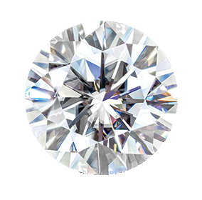 MOISSANITE, ROUND       3.0mm