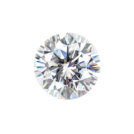 MOISSANITE, ROUND MELEE 1.3mm