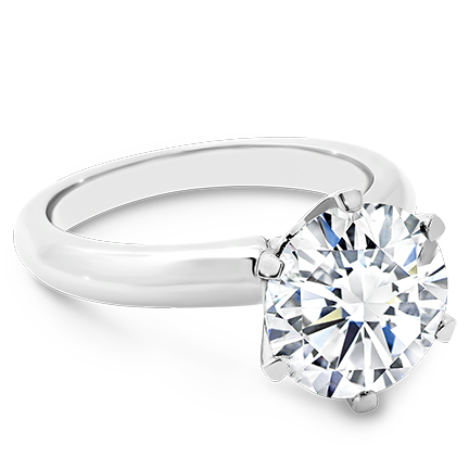 MOISSANITE, 14K RING    9.5mm