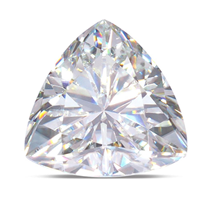 MOISSANITE, TRILLION    5.0mm