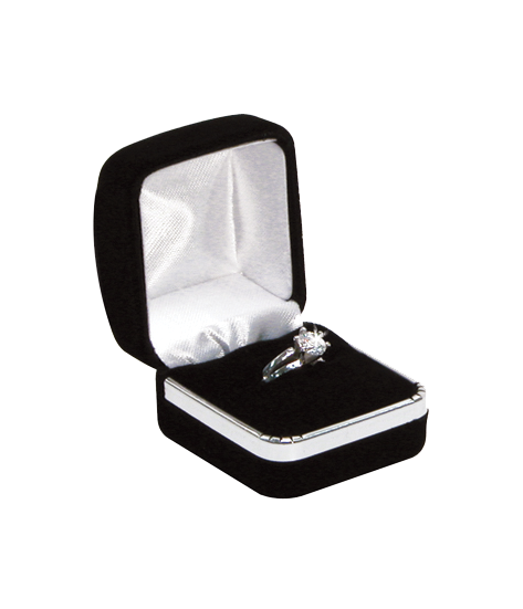 BOX, RING SINGLE    (SR-3) BLK